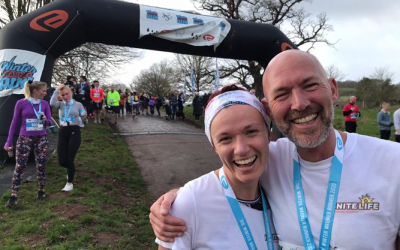 Andy and Maya run the Bristol 10K and Raise £277!